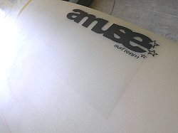 surfboard repair polyester remake decal amuse 2