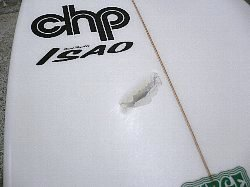 surfboard repair polyester remake decal chp 1