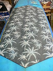 surfboard repair polyester remake palm tree fabric mabo 1