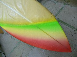 order shortboard single fin 3