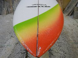 order shortboard single fin 7