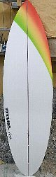 order shortboard single fin 8